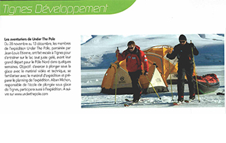JOURNAL MUNICIPAL DE TIGNES (FRANCE)