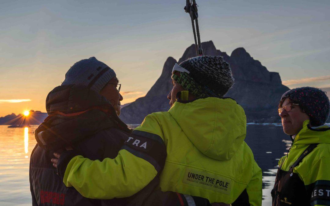 Un mois d'été au Groenland